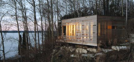 A retreat in Canada