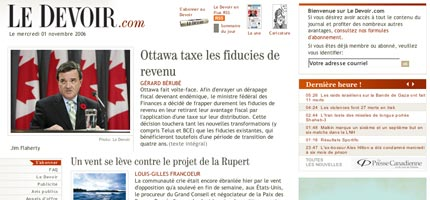 Le Devoir Design