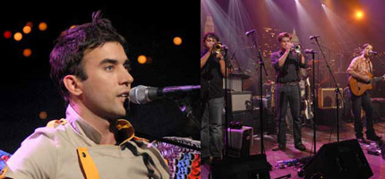 Sufjan Stevens & Calexico on Austin City Limits